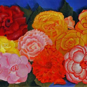 Begonias To Go - Kim Hogan Fine Art