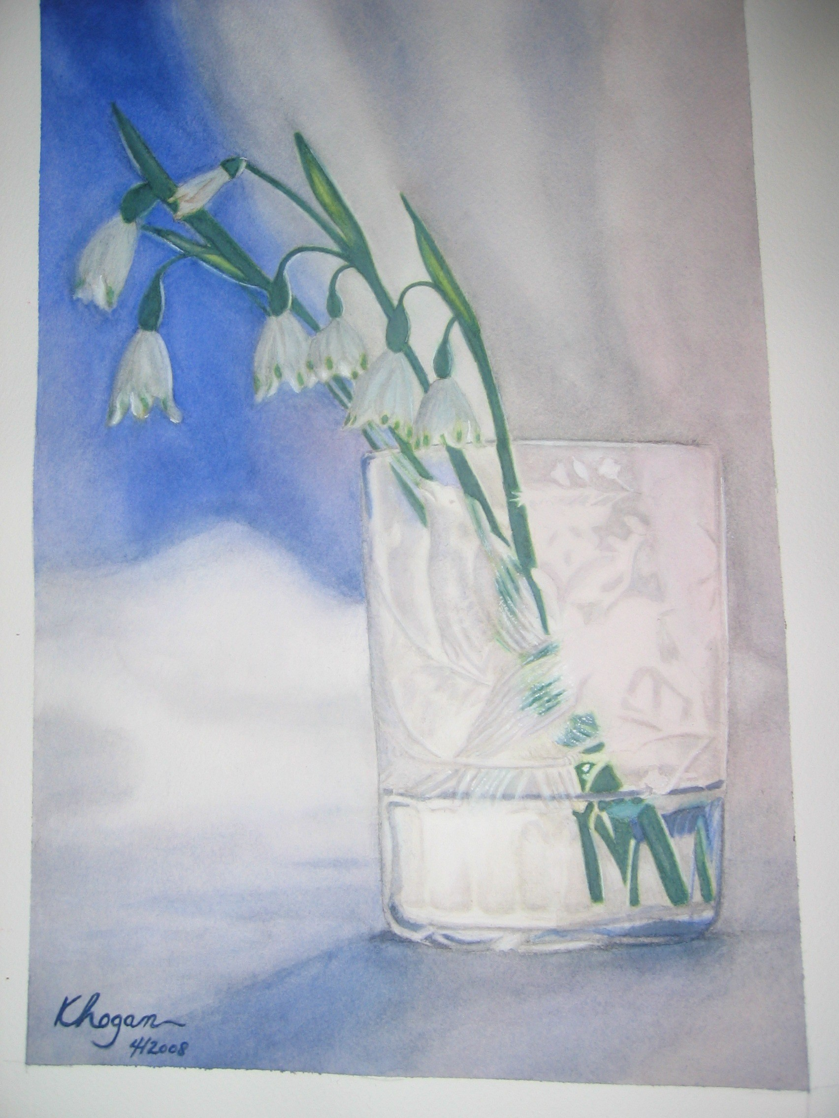 Bells In a Glass - Kim Hogan Fine Art