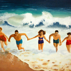 Capitola Fun in the Sun - Kim Hogan Fine Art