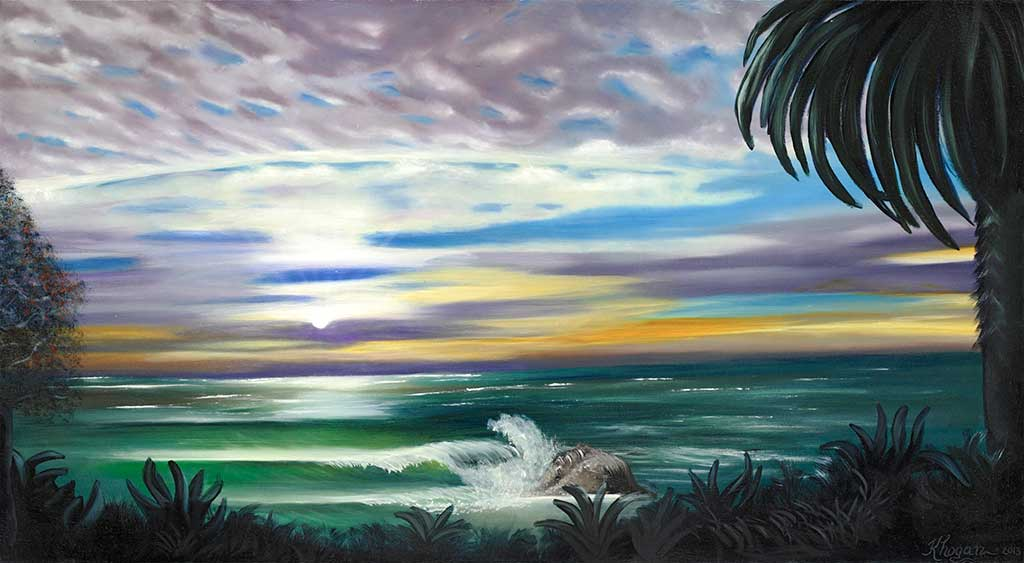 Tropical-Sunset-1 - Kim Hogan Fine Art